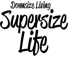 Downsize Living Supersize Life Logo