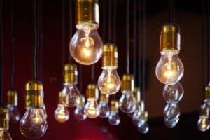 light bulbs Unsplashed